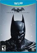 Batman: Arkham Origins Wii U Front Cover