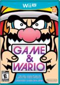 Game & Wario Wii U Front Cover