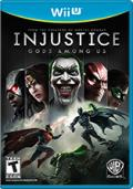 Injustice: Gods Among Us Wii U Front Cover