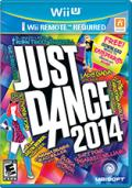 Just Dance 2014 Wii U Front Cover