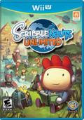 Scribblenauts Unlimited Wii U Front Cover