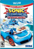 Sonic & All-Stars Racing Transformed Wii U Front Cover