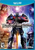 Transformers: Rise of the Dark Spark Wii U Front Cover