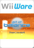 Art of Balance Wii Front Cover