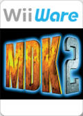 MDK 2 Wii Front Cover