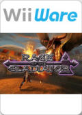 Rage of the Gladiator Wii Front Cover