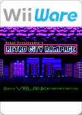 Retro City Rampage: DX Wii Front Cover