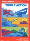 Triple Action Intellivision Front Cover