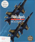 Blue Angels: Formation Flight Simulation Atari ST Front Cover