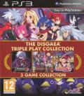 The Disgaea: Triple Play Collection PlayStation 3 Front Cover