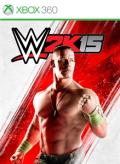 WWE 2K15 Xbox 360 Front Cover
