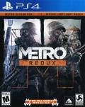 Metro: Redux PlayStation 4 Front Cover