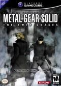 Metal Gear Solid: The Twin Snakes GameCube Front Cover