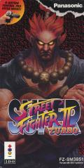 Super Street Fighter II Turbo 3DO Front Cover