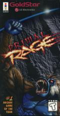 Primal Rage 3DO Front Cover