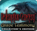 Redemption Cemetery: Grave Testimony (Collector's Edition) Macintosh Front Cover