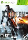 Battlefield 4 Xbox 360 Front Cover
