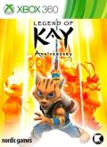Legend of Kay: Anniversary Xbox 360 Front Cover