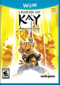Legend of Kay: Anniversary Wii U Front Cover