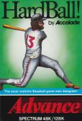 HardBall! ZX Spectrum Front Cover