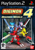 Digimon World 4 PlayStation 2 Front Cover