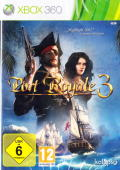 Port Royale 3: Pirates & Merchants Xbox 360 Front Cover