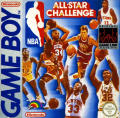 NBA All-Star Challenge Game Boy Front Cover
