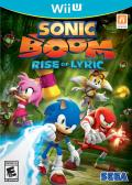 Sonic Boom: Rise of Lyric Wii U Front Cover