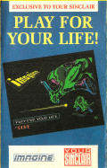 Play for Your Life ZX Spectrum Front Cover
