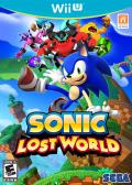 Sonic: Lost World Wii U Front Cover