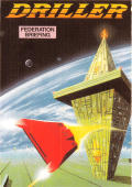 Space Station Oblivion ZX Spectrum Front Cover