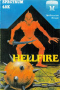 Hellfire ZX Spectrum Front Cover