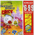 Fantasy World Dizzy Atari ST Front Cover