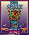 9 Lives Atari ST Front Cover