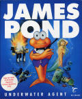 James Pond: Underwater Agent Atari ST Front Cover