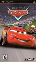 Disney Presents a Pixar Film: Cars PSP Front Cover