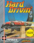 Hard Drivin' ZX Spectrum Front Cover