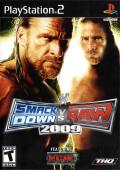 WWE Smackdown vs. Raw 2009 PlayStation 2 Front Cover