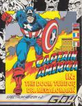 Captain America in: The Doom Tube of Dr. Megalomann ZX Spectrum Front Cover