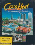 Cisco Heat: All American Police Car Race ZX Spectrum Front Cover