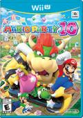 Mario Party 10 Wii U Front Cover