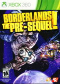 Borderlands: The Pre-Sequel! Xbox 360 Front Cover