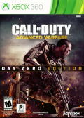 Call of Duty: Advanced Warfare (Day Zero Edition) Xbox 360 Front Cover