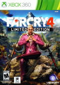 Far Cry 4 (Limited Edition) Xbox 360 Front Cover