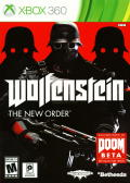 Wolfenstein: The New Order Xbox 360 Front Cover
