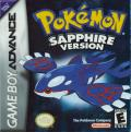 Pokémon Sapphire Version Game Boy Advance Front Cover