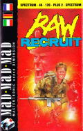 Raw Recruit ZX Spectrum Front Cover