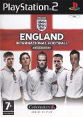 England International Football PlayStation 2 Front Cover
