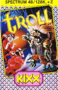Troll ZX Spectrum Front Cover