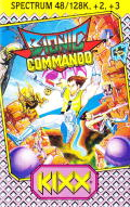 Bionic Commando ZX Spectrum Front Cover